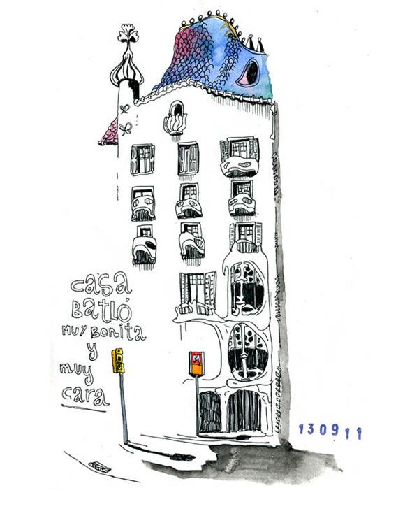 212 Dibujos Para Descubrir La Ciudad De Barcelona Yorokobu