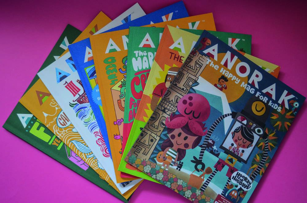 Anorak, una revista de cultura pop, con diseño exquisito