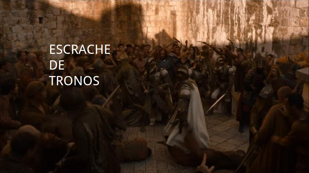 Escrache de tronos
