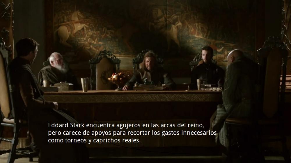 Eddard Stark propone; el concejo dispone