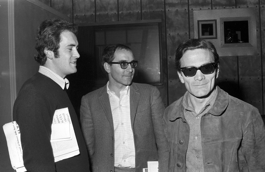 08 - Pasolini, Jean Luc Godadrd i Bernardo Bertolucci