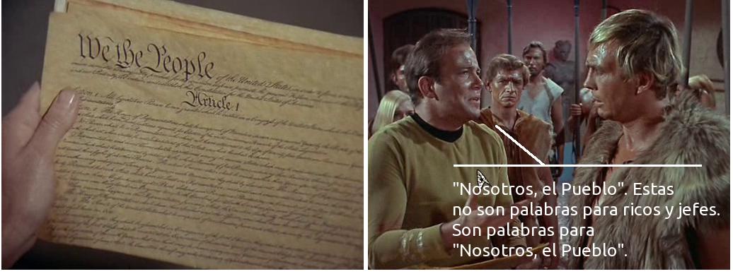 Lecciones de democracia de Kirk