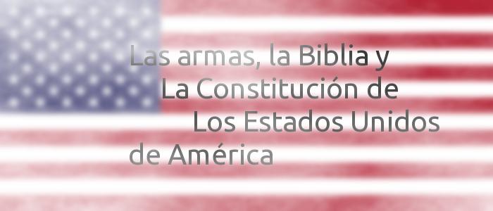 Ciencia ficción USA - Las armas y la Biblia