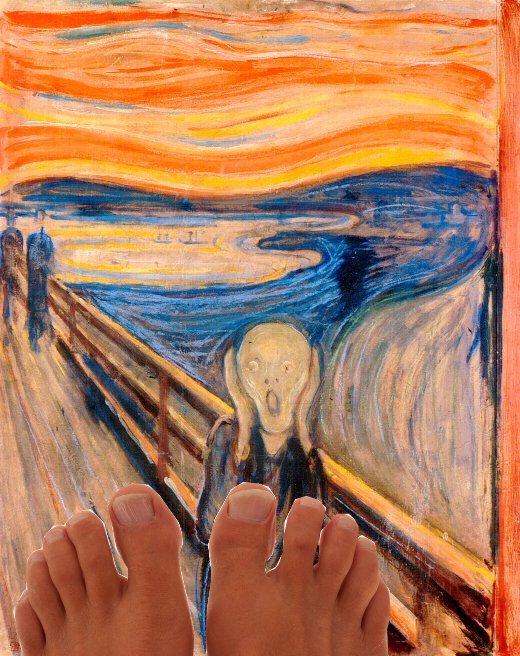 Munch Feet