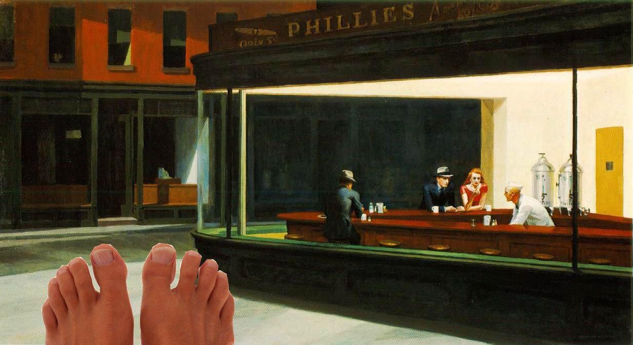 Hopper Feet