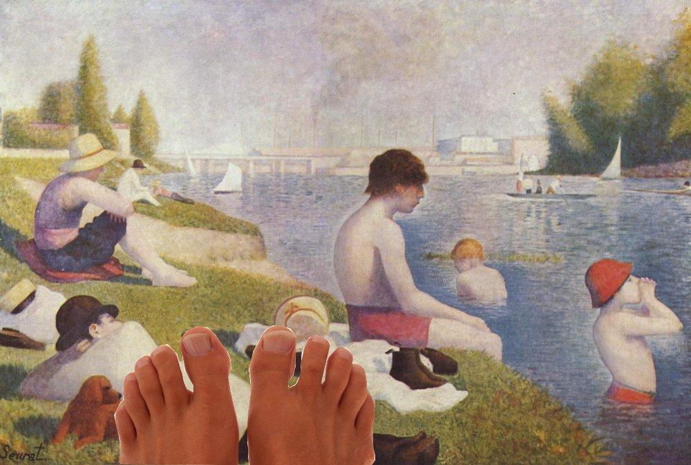 Seurat feet