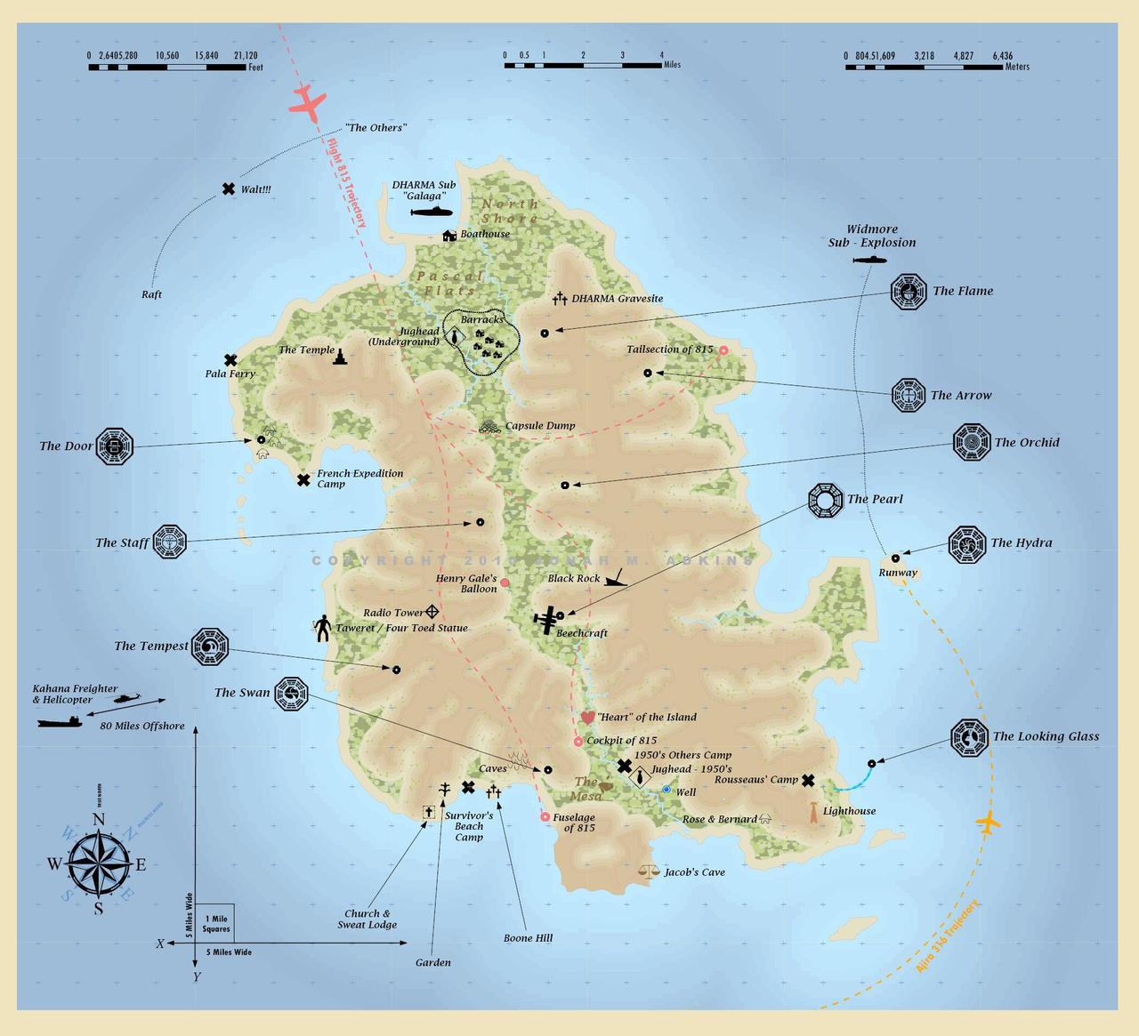Mapa de Lost