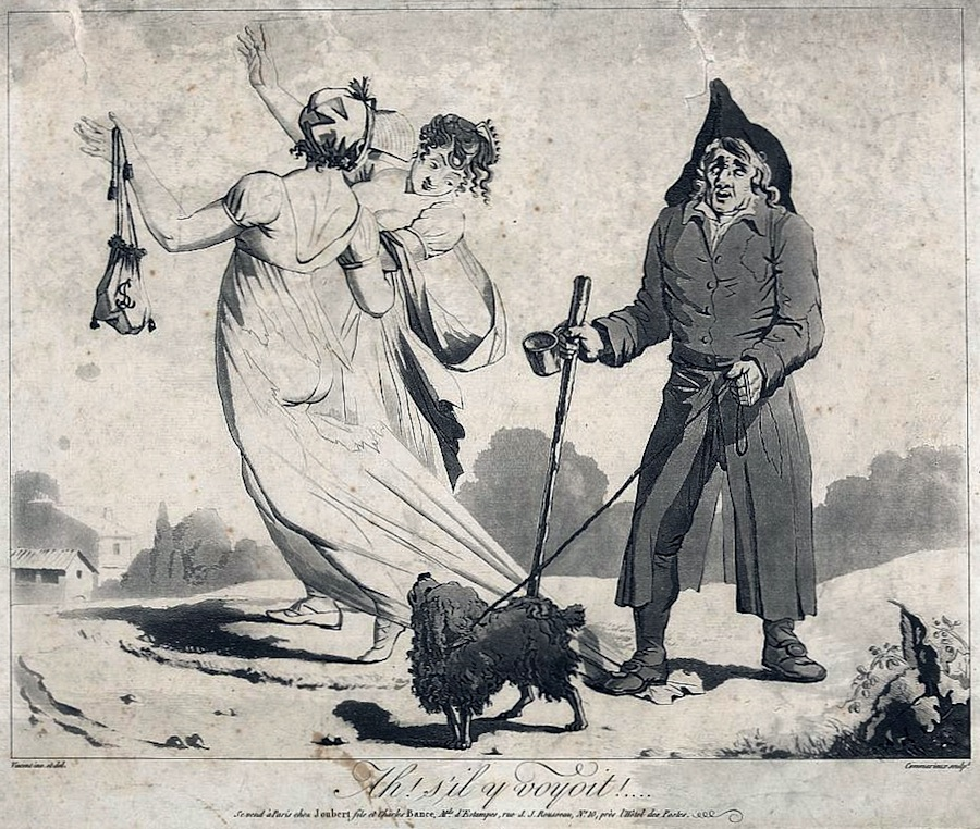 Unknown: Domino Público http://commons.wikimedia.org/wiki/File:Directoire_fashion_caricature_1797.jpg