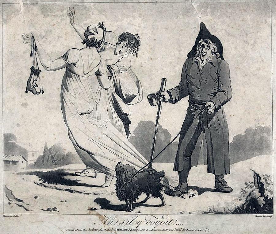 Unknown: Domino Público http://commons.wikimedia.org/wiki/File:Directoire_fashion_caricature_1797.jpg