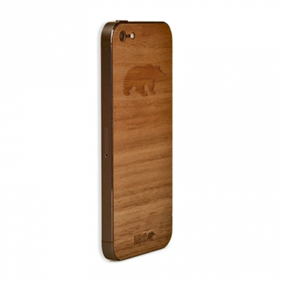 funda-de-madera-oso-iphone-5