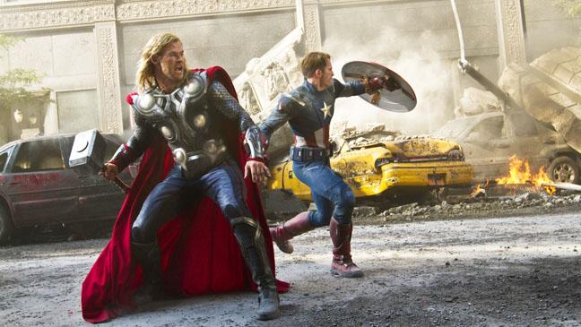 Los Vengadores de Marvel en Nueva York