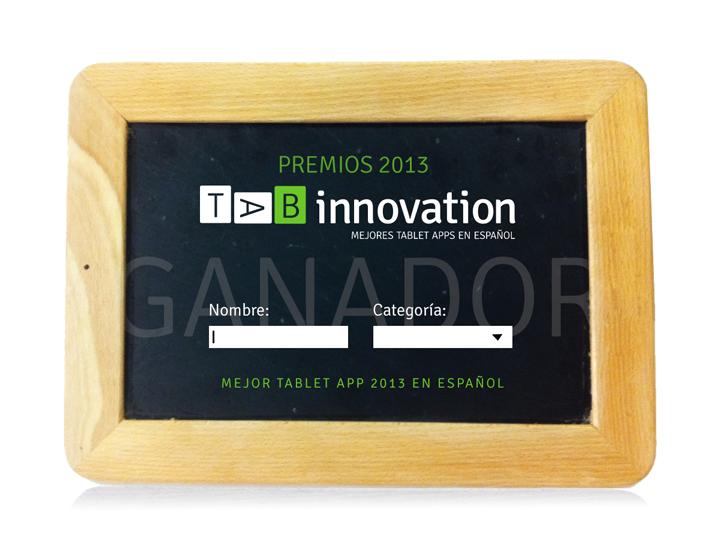 Estatuilla Premio TAB Innovation