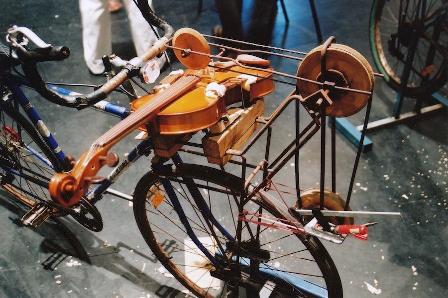 Jon Rose's Viola-cycle