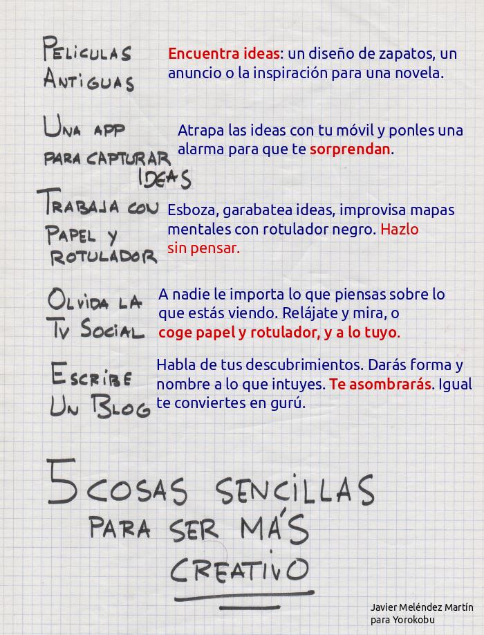 5 ideas sencillas