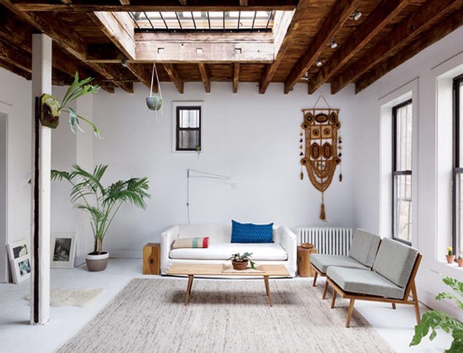 Brooklyn, New York (a Fashion Designer and an Art Director)-100m2
