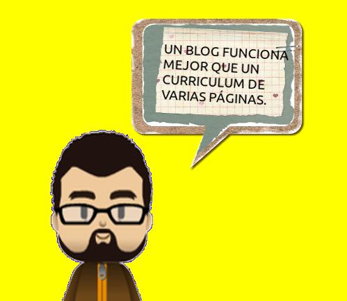 Un blog funciona mejor que un CV