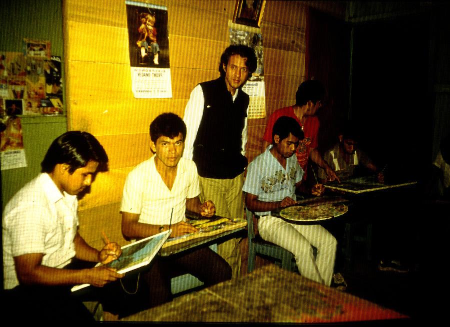 Usko-Ayar,primeros alumnos