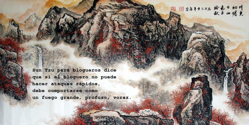 Vieja Montaña y fuego
