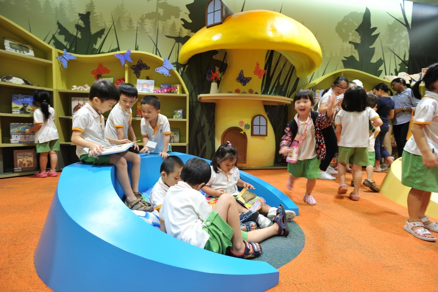 Have a fun learning experience in the Green Library for Kids