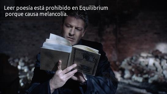 Equilibrium y la poesia