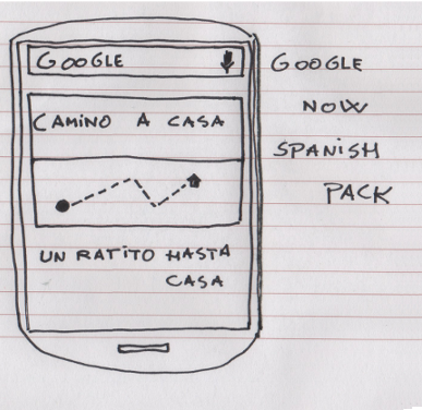 Google Now Spanish Pack