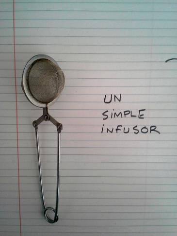 Un simple infusor