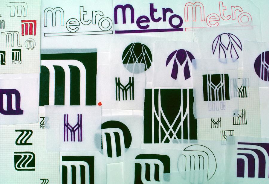 1.MetroLogoStudies