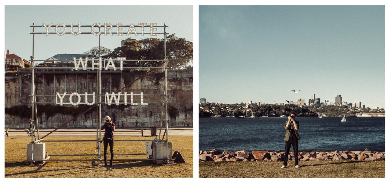 Australia, Biennale Cockatoo island Sydney