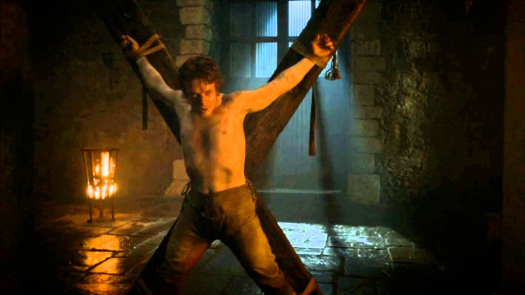 Theon torturado
