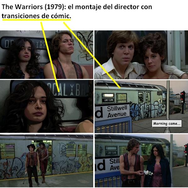 The Warriors, el montaje del director