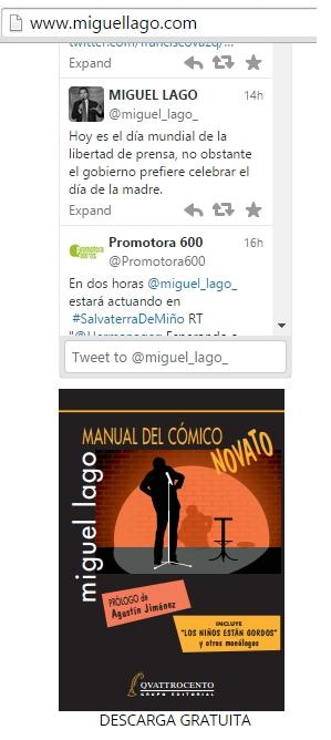 Miguel Lago web