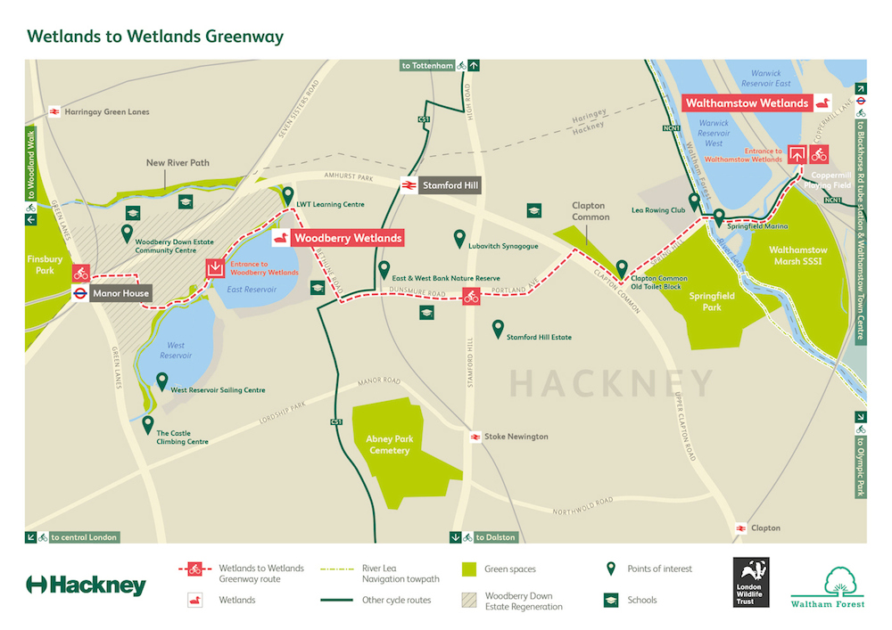 Wetlands-to-Wetlands-Greenway-map