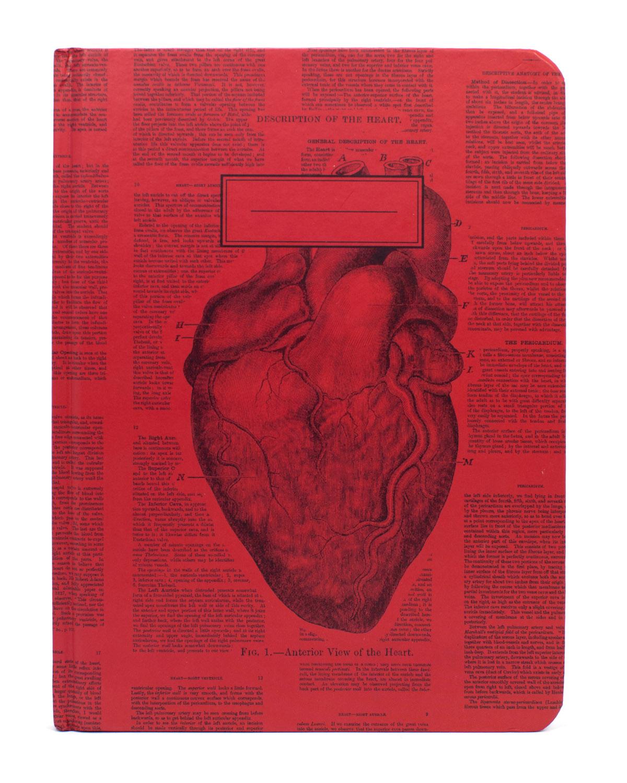 Anatomical-Heart-Vintage-Hardcover-Ecojournal