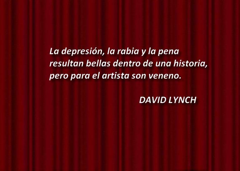 No a las emociones negativas - Lynch
