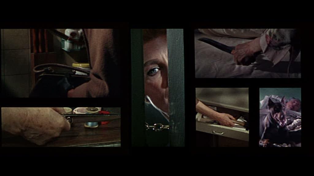 El estrangulador de Boston y el cuchillo