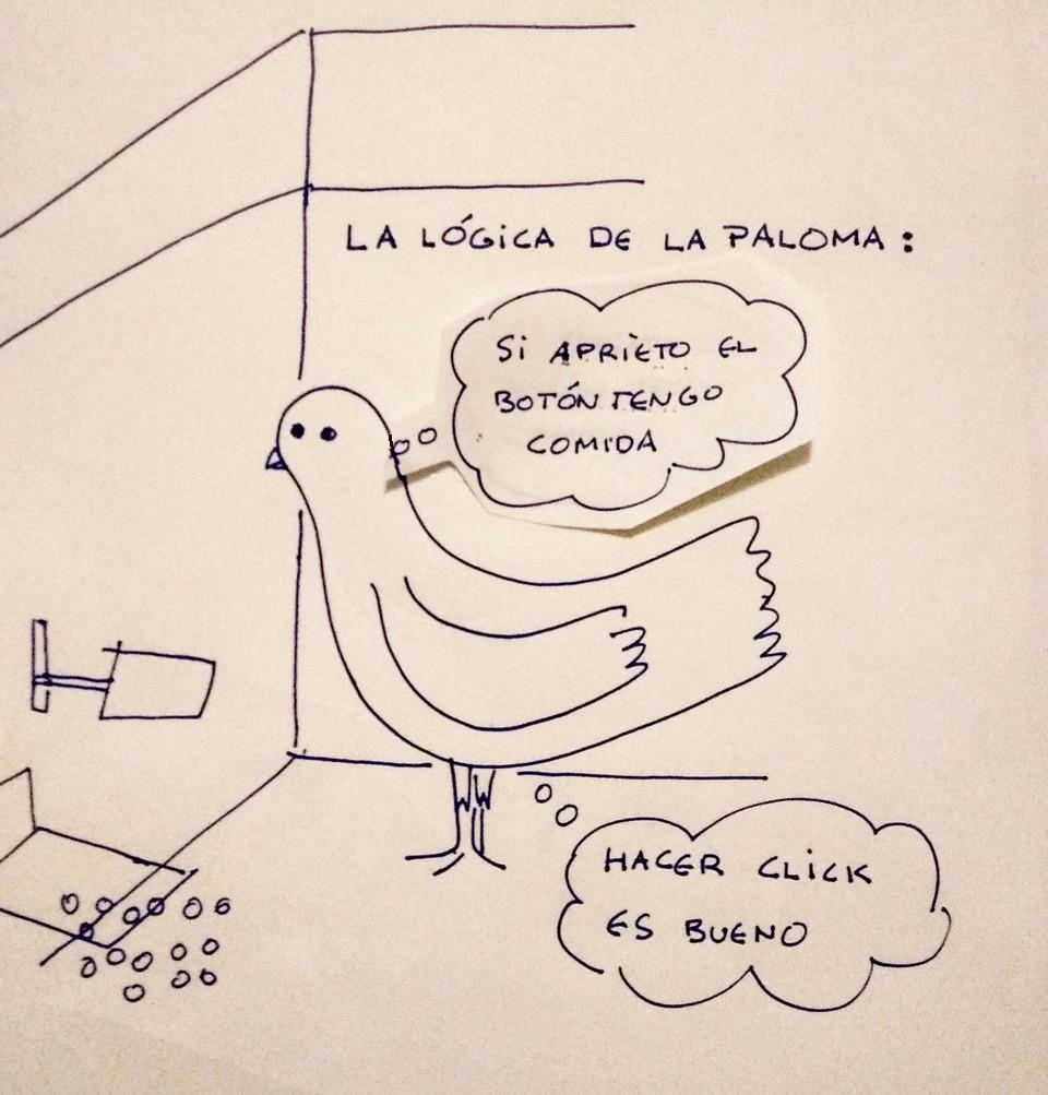 La paloma lista