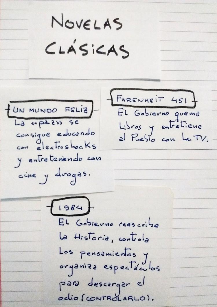 Los elementos de las novelas distópicas
