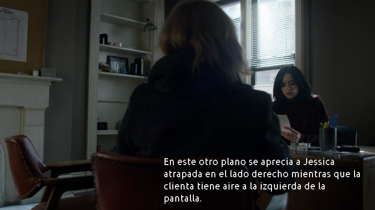 Jessica Jones y la clienta
