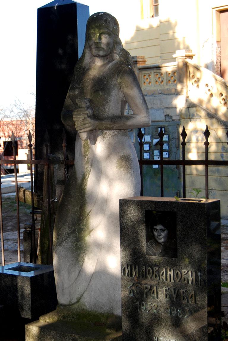 Cementerio de Zemun en Belgrado