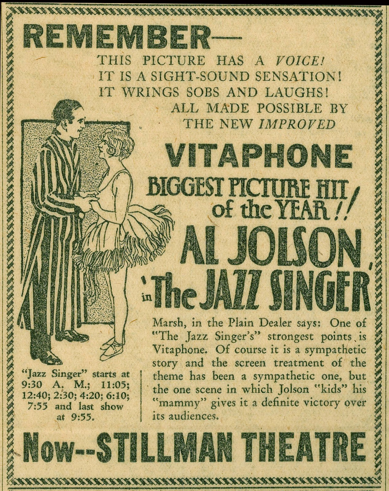 El cantor de Jazz