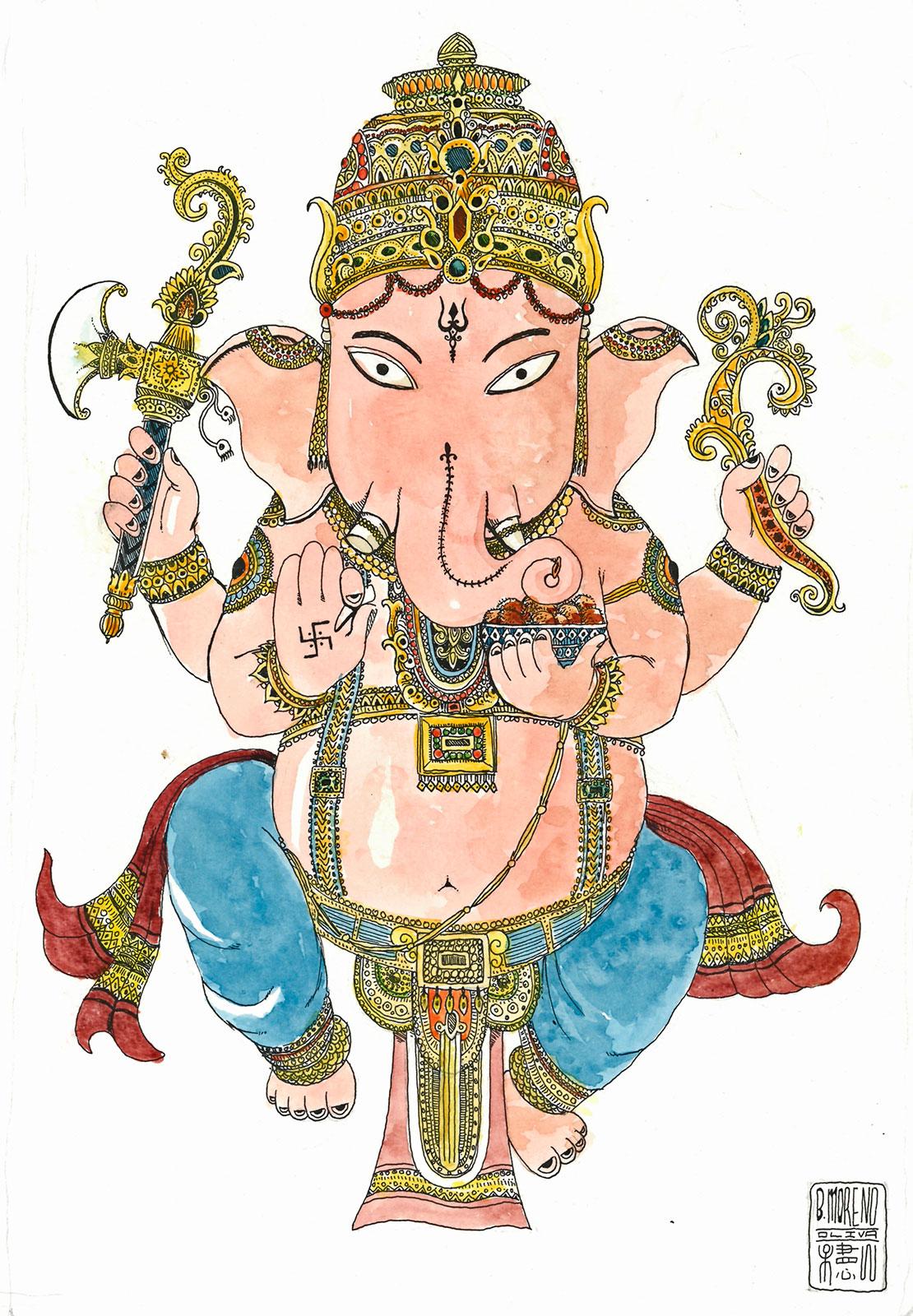 Ganesha-ilustration