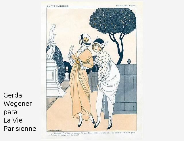 Greta-Wegener LA VIE PARISIENNE