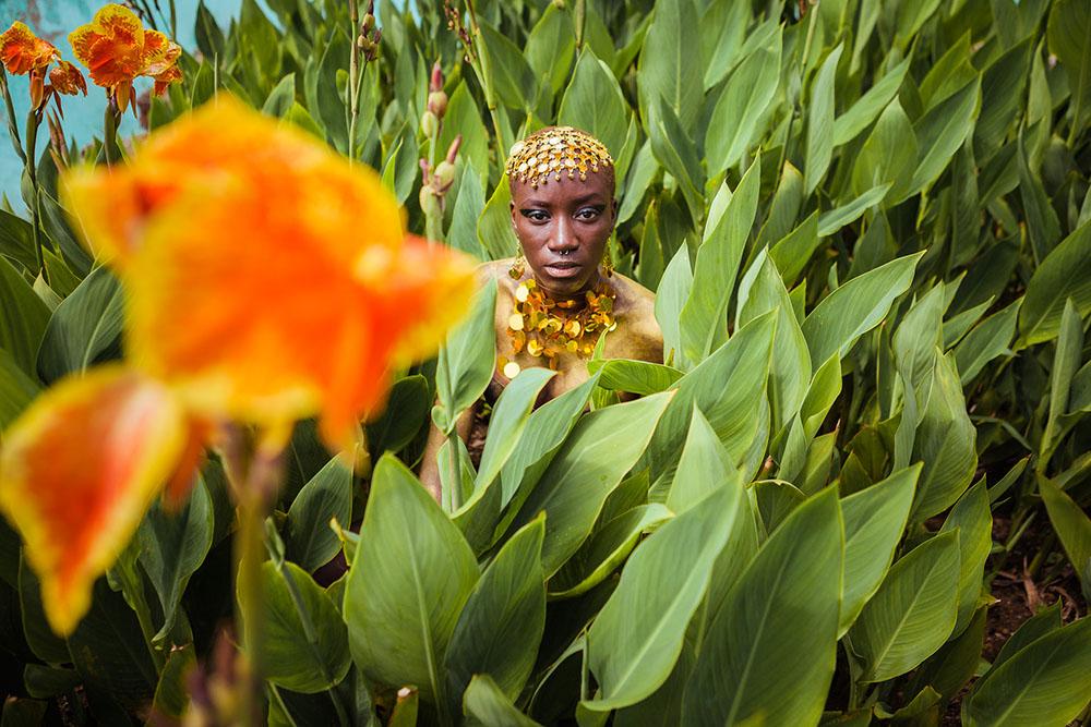 Oxum, orixá de las aguas dulces, de la belleza y de la elegancia (foto: Antonello Veneri)