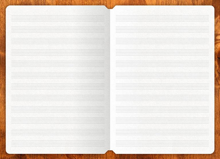 Music-Sheet-Mixiw-Notebook