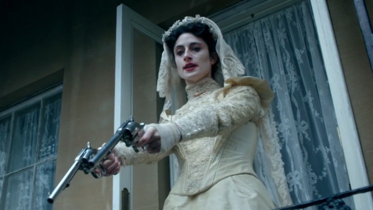 La novia y sus pistolas