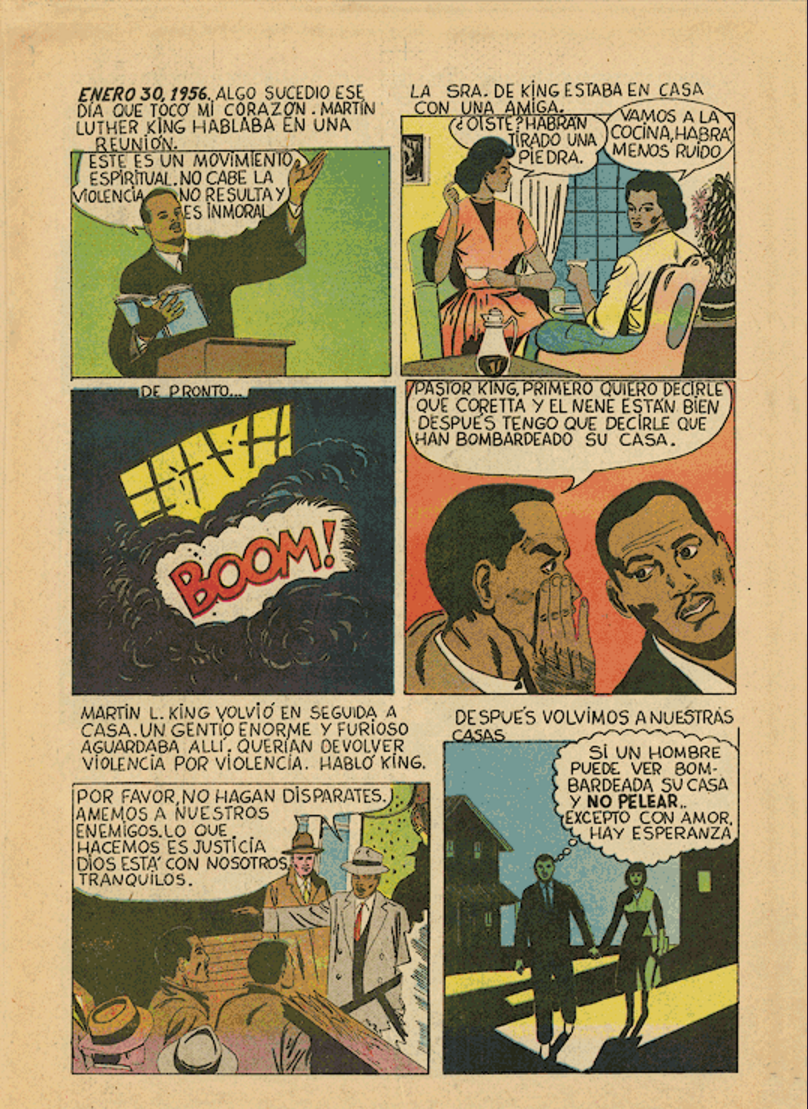 comic martin luther king