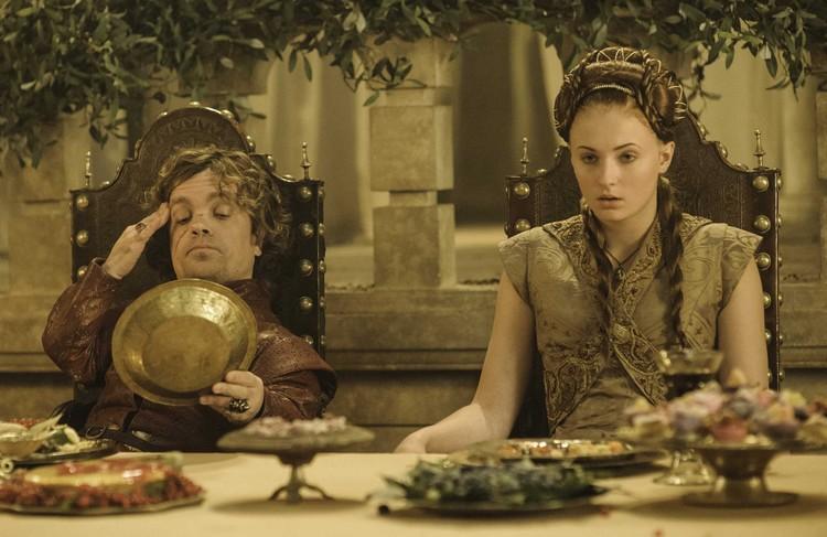 La boda de Tyrion y Sansa