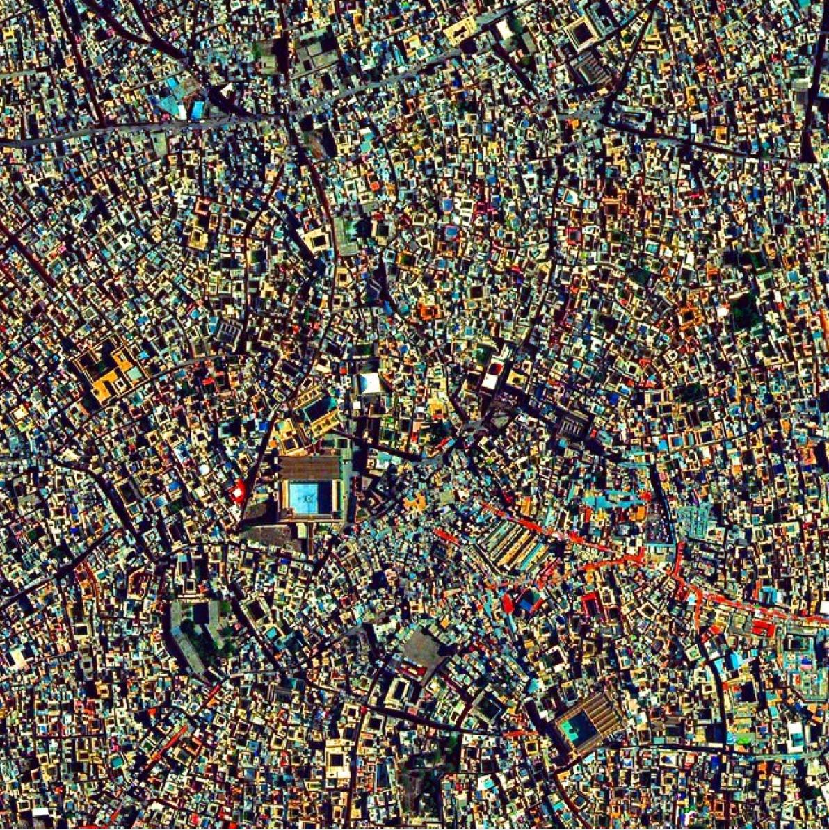 La Medina de Marrakech (Marruecos).