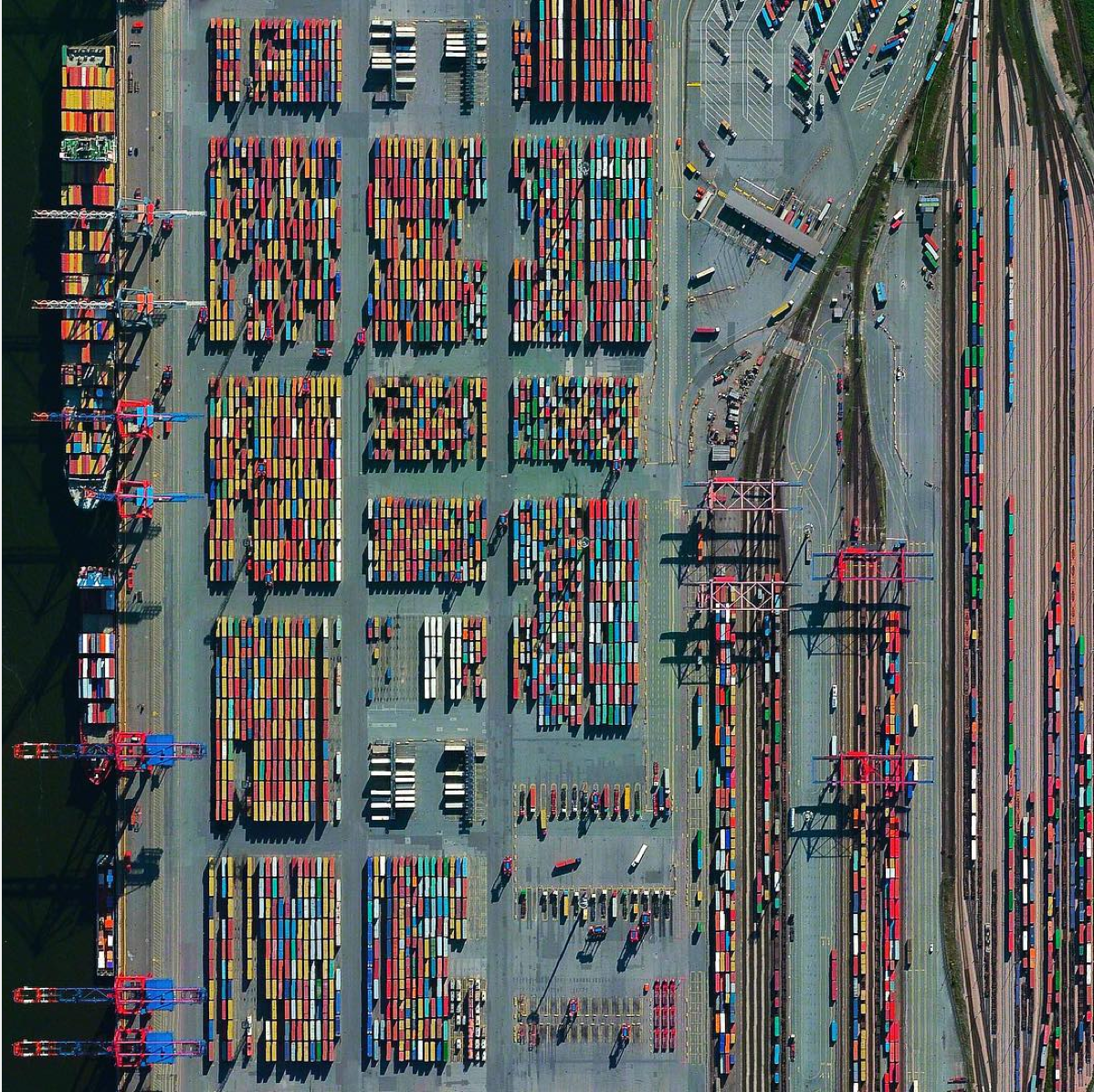 Puerto de Hamburgo (Alemania).