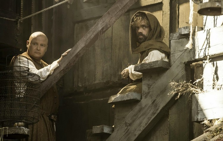 Varys y Tyrion a la aventura